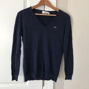 Navy Blue Vineyard Vines Sweater